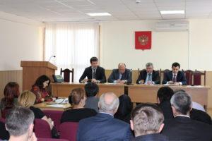 #Встреча с руководством и представителями территориальных подразделений УФРС8