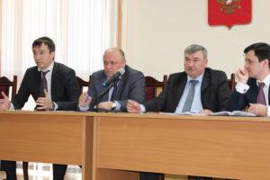 #Встреча с руководством и представителями территориальных подразделений УФРС3