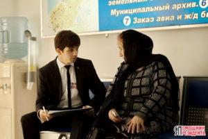 #Активисты «ЯПП» провели анкетирование в МФЦ г.Каспийска.3