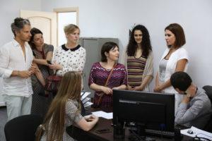 #В Уполномоченном МФЦ по Республике Дагестан побывали журналисты французского издания Le Courrier de Russie6