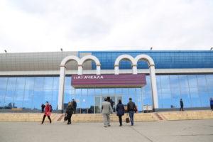 #Пассажиров и работников Международного аэропорта Махачкалы зарегистрируют на портале госуслуг8