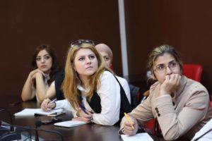 #В Республиканском МФЦ, в режиме видеоконференцсвязи, прошло совещание для юристов многофункциональных центров1