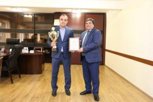 #В республике Дагестан наградили победителей регионального конкурса «Лучший МФЦ».9