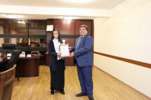 #В республике Дагестан наградили победителей регионального конкурса «Лучший МФЦ».4