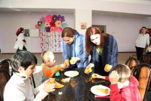 #Сотрудники Республиканского МФЦ побывали с визитом в доме-интернате для детей «Забота».8