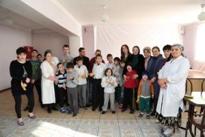 #Сотрудники Республиканского МФЦ побывали с визитом в доме-интернате для детей «Забота».1