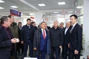#Президент Татарстана Рустам Минниханов посетил МФЦ  Дагестана2