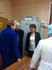 #В Дагестан с рабочим визитом прибыла заведующая отделением лучевой терапии МНИОН им. Герцена  Инна Дрошнева3