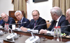 #Владимир Путин посетил Дагестан1