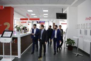 #Делегация из Чеченской Республики ознакомилась с опытом организации предоставления услуг в МФЦ Дагестана9