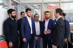 #Делегация из Чеченской Республики ознакомилась с опытом организации предоставления услуг в МФЦ Дагестана1