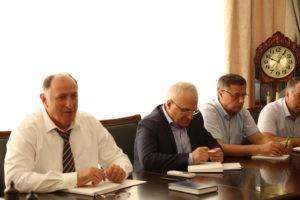 #Вопросы расширения сотрудничества обсудили сегодня в министерстве сельского хозяйства и продовольствия РД6