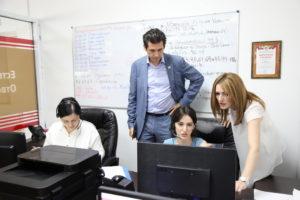 #Министр экономики Республики Татарстан побывал в МФЦ Дагестана5