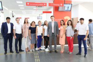 #Делегация из Татарстана в рамках сотрудничества между регионами посетила Республиканский МФЦ9