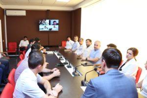 #В конференц-зале республиканского МФЦ прошло совещание, посвященное конкурсу «Мой Дагестан»8