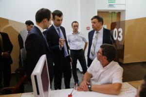 #МФЦ  Дагестана посетил директор по развитию производственных систем Госкорпорации «Росатом» Сергей Обозов2