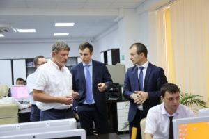 #МФЦ  Дагестана посетил директор по развитию производственных систем Госкорпорации «Росатом» Сергей Обозов8