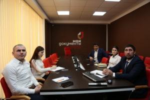 #МФЦ Республики Дагестан в режиме видеоконференцсвязи принял участие в заседании рабочей группы «Федеральной корпорации по развитию малого и среднего предпринимательства»6