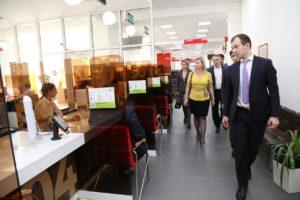 #С визитом в МФЦ Дагестана побывали коллеги из республики Северная Осетия.9