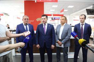 #Сегодня в Республиканском МФЦ состоялось подписание соглашения между Министерством строительства и ЖКХ  РД и  Сбербанком Республики Дагестан5