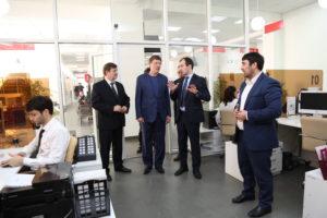 #Делегация Росатома посетила МФЦ Дагестана6
