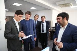 #Делегация Росатома посетила МФЦ Дагестана8