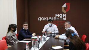 #В МФЦ Дагестана прошел обучающий семинар с участием консультанта отдела лицензирования  Министерства здравоохранения РД Мусы Абдулаева7