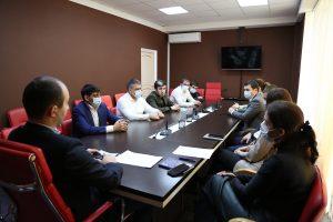 #Вопросы прививочной компании обсудили на совещании в Республиканском МФЦ2