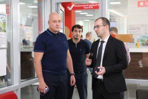 #Директор МФЦ Саратовской области изучил опыт внедрения принципов «бережливого производства»в дагестанских центрах госуслуг.8