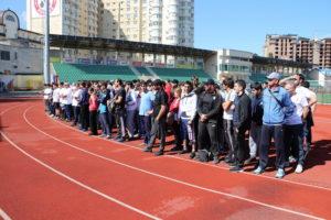 #В эти выходные на «Стадионе им. Е. Исинбаевой» прошла спартакиада работников МФЦ Республики Дагестан8