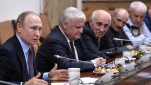 #Владимир Путин посетил Дагестан7