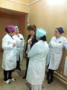 #В Дагестан с рабочим визитом прибыла заведующая отделением лучевой терапии МНИОН им. Герцена  Инна Дрошнева1