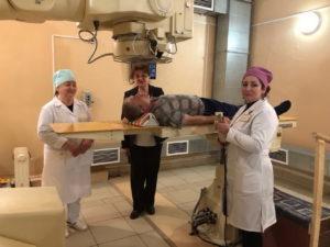 #В Дагестан с рабочим визитом прибыла заведующая отделением лучевой терапии МНИОН им. Герцена  Инна Дрошнева4