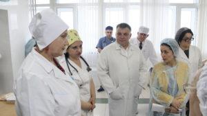 #Врачи из Санкт-Петербурга посетили Перинатальный центр «Мама Патимат» и ДРКБ7