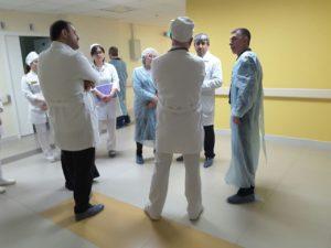 #Врачи из Санкт-Петербурга посетили Перинатальный центр «Мама Патимат» и ДРКБ3