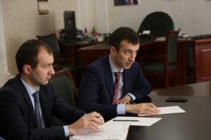 #Вопросы расширения сотрудничества обсудили сегодня в министерстве сельского хозяйства и продовольствия РД9
