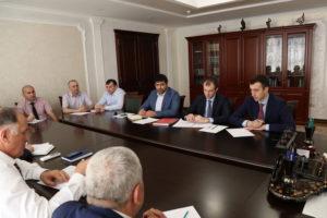 #Вопросы расширения сотрудничества обсудили сегодня в министерстве сельского хозяйства и продовольствия РД5