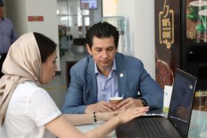 #Министр экономики Республики Татарстан побывал в МФЦ Дагестана9