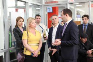 #С визитом в МФЦ Дагестана побывали коллеги из республики Северная Осетия.3