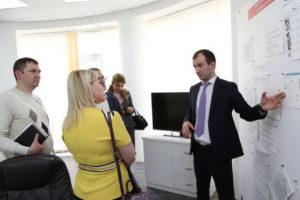#С визитом в МФЦ Дагестана побывали коллеги из республики Северная Осетия.4