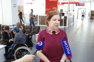 #Реализацию проекта по предоставлению субсидий инвалидам на приобретение жилья обсудили в Республиканском МФЦ1