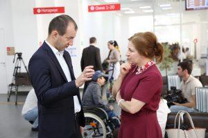 #Реализацию проекта по предоставлению субсидий инвалидам на приобретение жилья обсудили в Республиканском МФЦ6