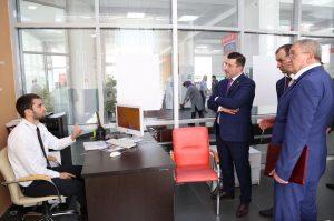 #Сегодня в Республиканском МФЦ состоялось подписание соглашения между Министерством строительства и ЖКХ  РД и  Сбербанком Республики Дагестан9