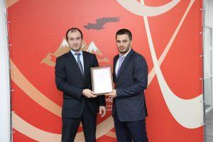 #Сотрудников МФЦ наградили грамотами за работу в период пандемии8