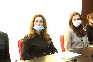 #Вопросы соблюдения плана мероприятий противодействию распространения коронавируса и вакцинации обсудили на ВКС совещании Республиканского МФЦ.9