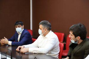 #Вопросы прививочной компании обсудили на совещании в Республиканском МФЦ9