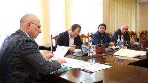 #Состоялось первое в этом году заседании Наблюдательного совета МФЦ Республики Дагестан.9