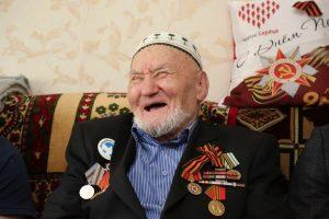 #Поздравление ветерана ВОВ3