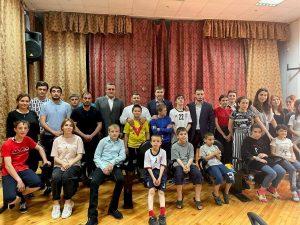 #Коллектив МФЦ побывал в школе-интернате для детей-сирот.9