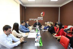 #Вопросы оказания услуги социальный контракт обсудили сегодня в МФЦ Дагестана.3